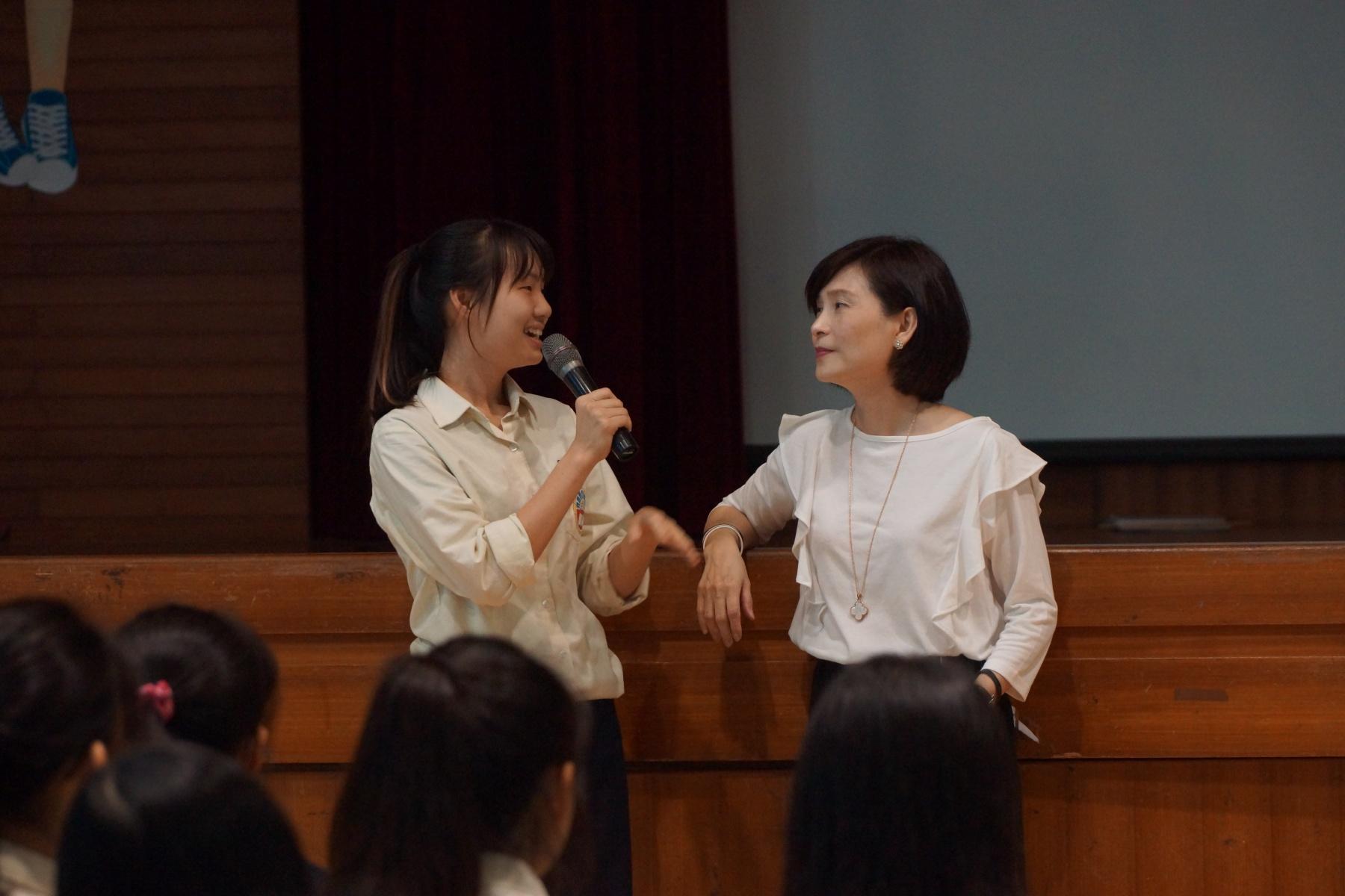 同學分享聽講後心得